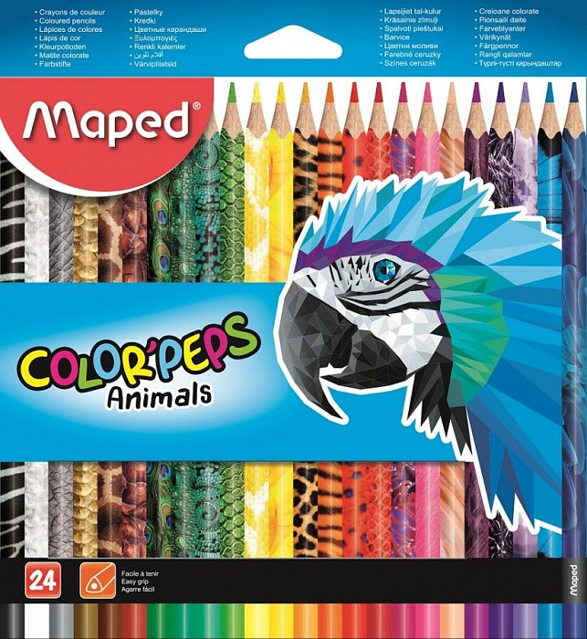832224 Цветные карандаши Maped COLOR'PEPS